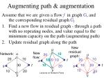 augmenting path augmentation