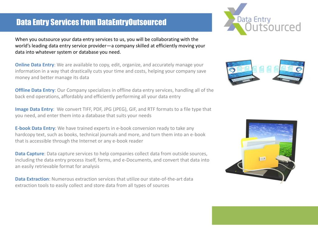 Data Entry Services from