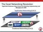 the quiet networking revolution