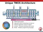 unique tmos architecture