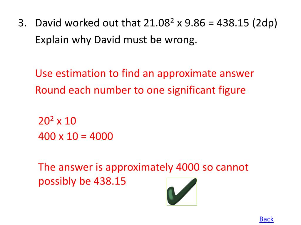 3.David worked out that 21.08