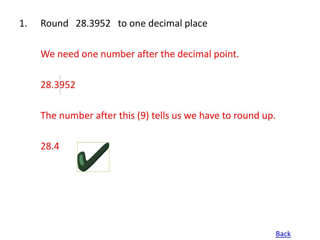 Round   28.3952   to one decimal place