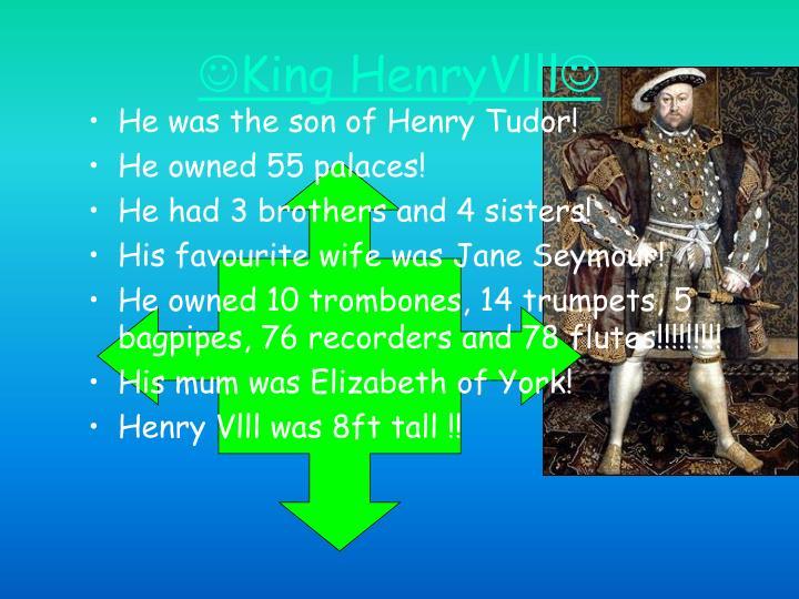 King henryvlll