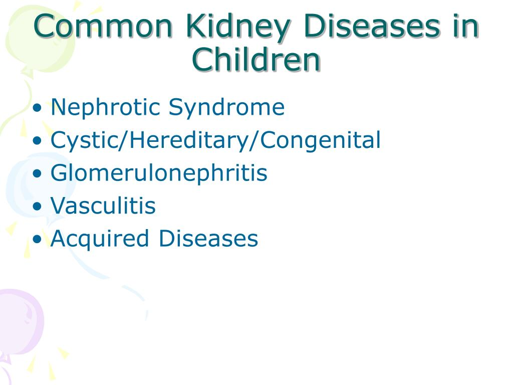 PPT - Kids and Kidney Disease PowerPoint Presentation ...