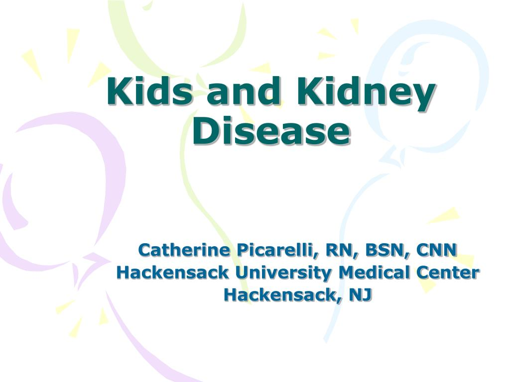 kids and kidney disease l.