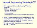 network engineering workshop