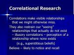 correlational research21