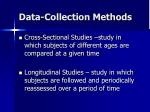 data collection methods37