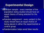 experimental design28