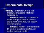 experimental design29