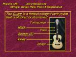 physics 1251 unit 2 session 22 strings guitar harp piano harpsichord12