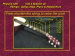 physics 1251 unit 2 session 22 strings guitar harp piano harpsichord14
