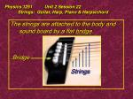 physics 1251 unit 2 session 22 strings guitar harp piano harpsichord16