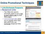 online promotional techniques22
