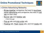 online promotional techniques23