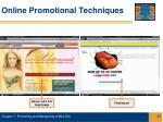 online promotional techniques25