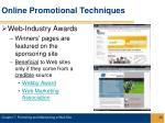 online promotional techniques26