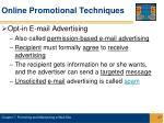 online promotional techniques27