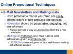online promotional techniques28