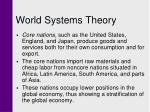 world systems theory22