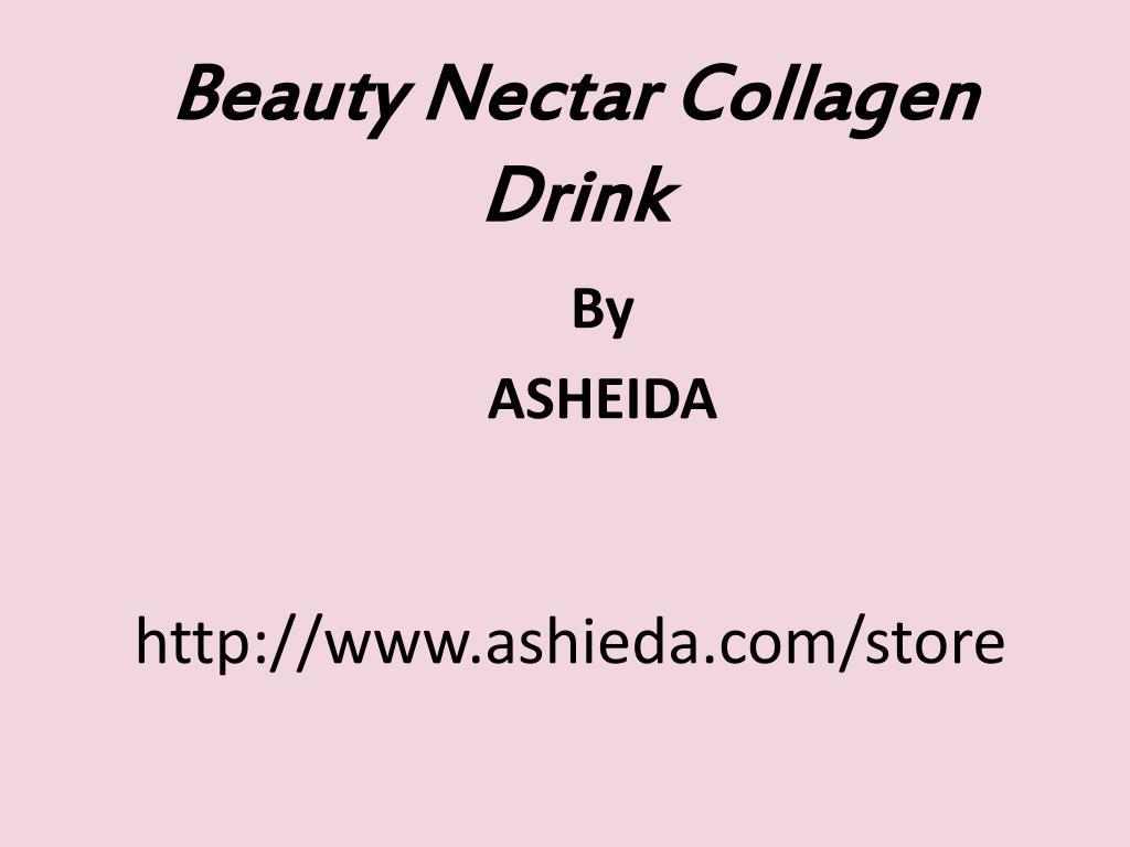 Beauty Nectar Collagen Drink