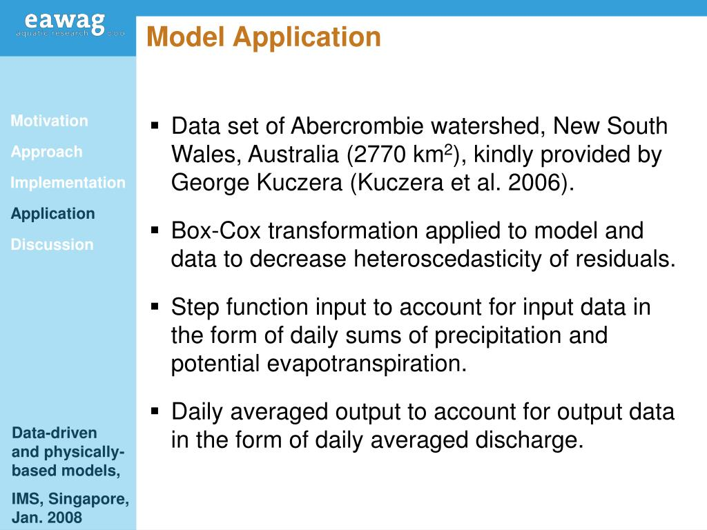 Model Application
