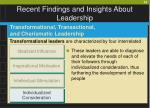 recent findings and insights about leadership39