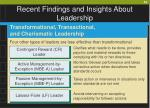 recent findings and insights about leadership40