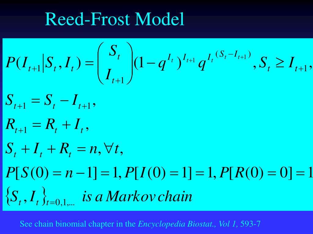 Reed-Frost Model