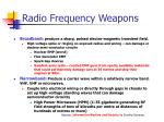 radio frequency weapons15