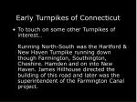 early turnpikes of connecticut67