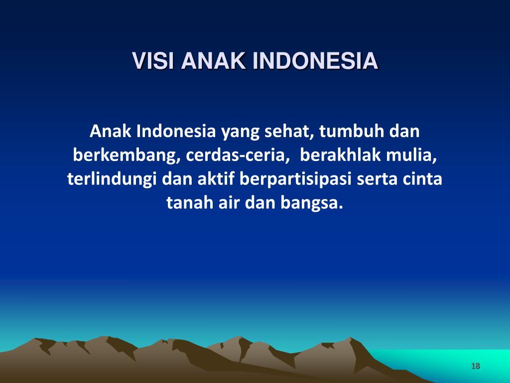 VISI ANAK INDONESIA