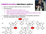 x linked recessive inheritance pattern