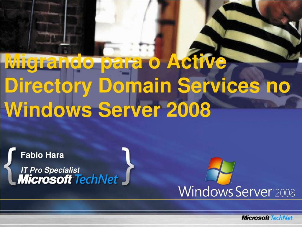migrando para o active directory domain services no windows server 2008 l.