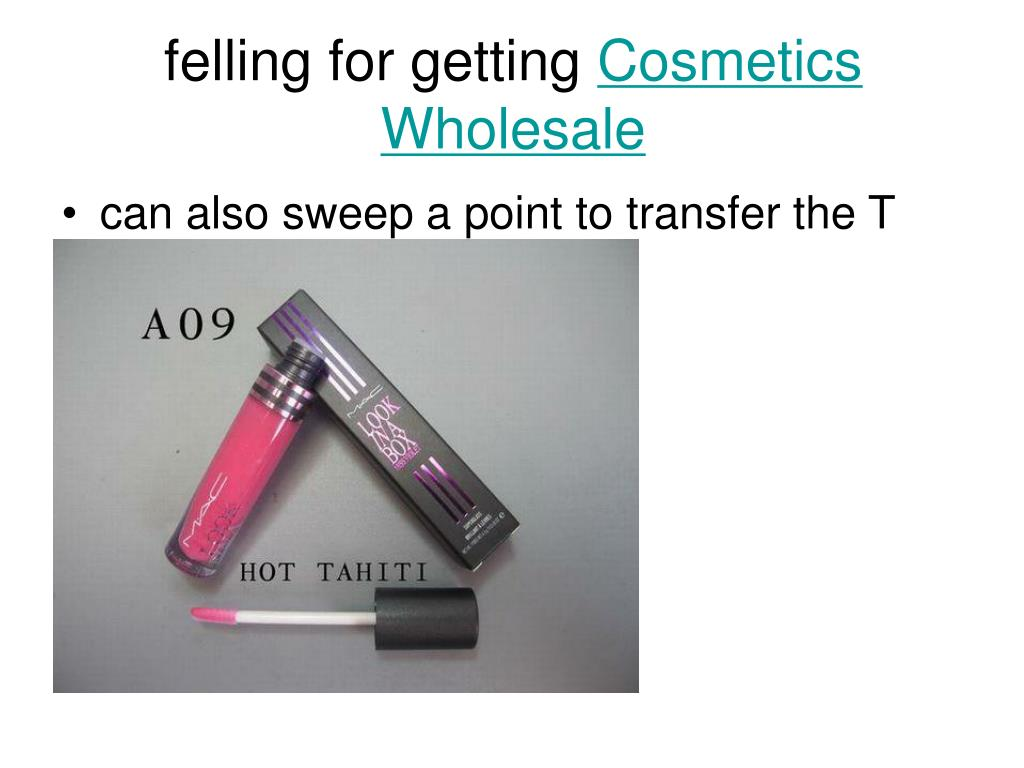 felling for getting cosmetics wholesale l.