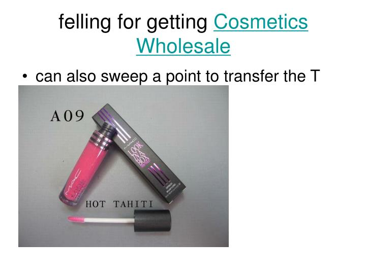 felling for getting cosmetics wholesale n.