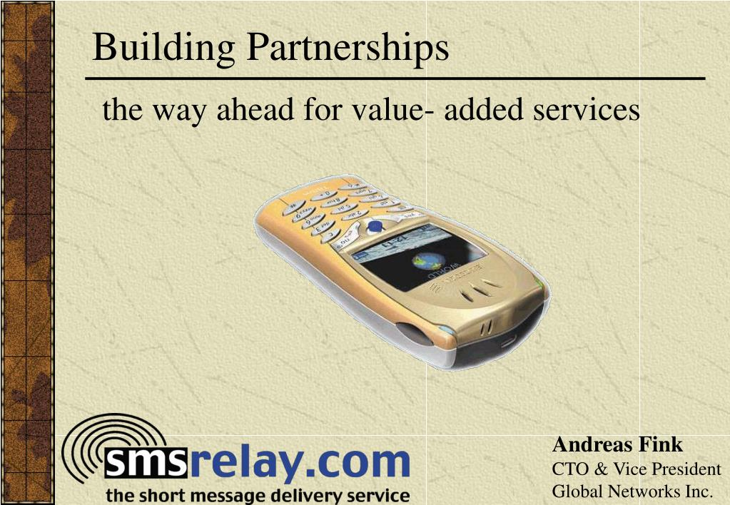 building partnerships l.