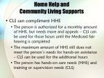 home help and community living supports36