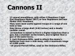 cannons ii