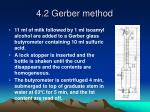 4 2 gerber method