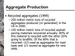 aggregate production81