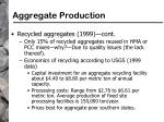 aggregate production83