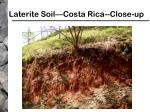 laterite soil costa rica close up
