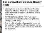 soil compaction moisture density tests32