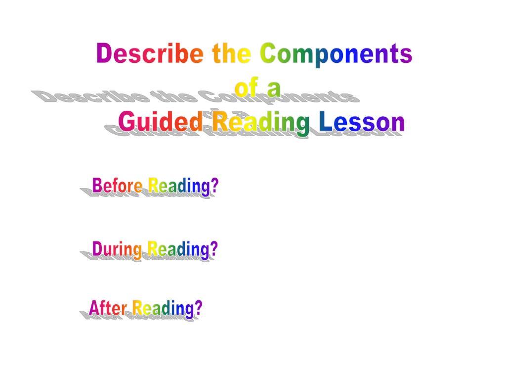 Describe the Components