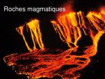 roches magmatiques