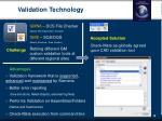 validation technology