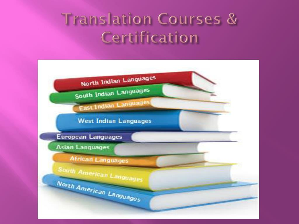 Translation Courses & Certification