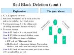red black deletion cont