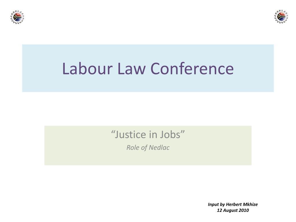labour law conference l.